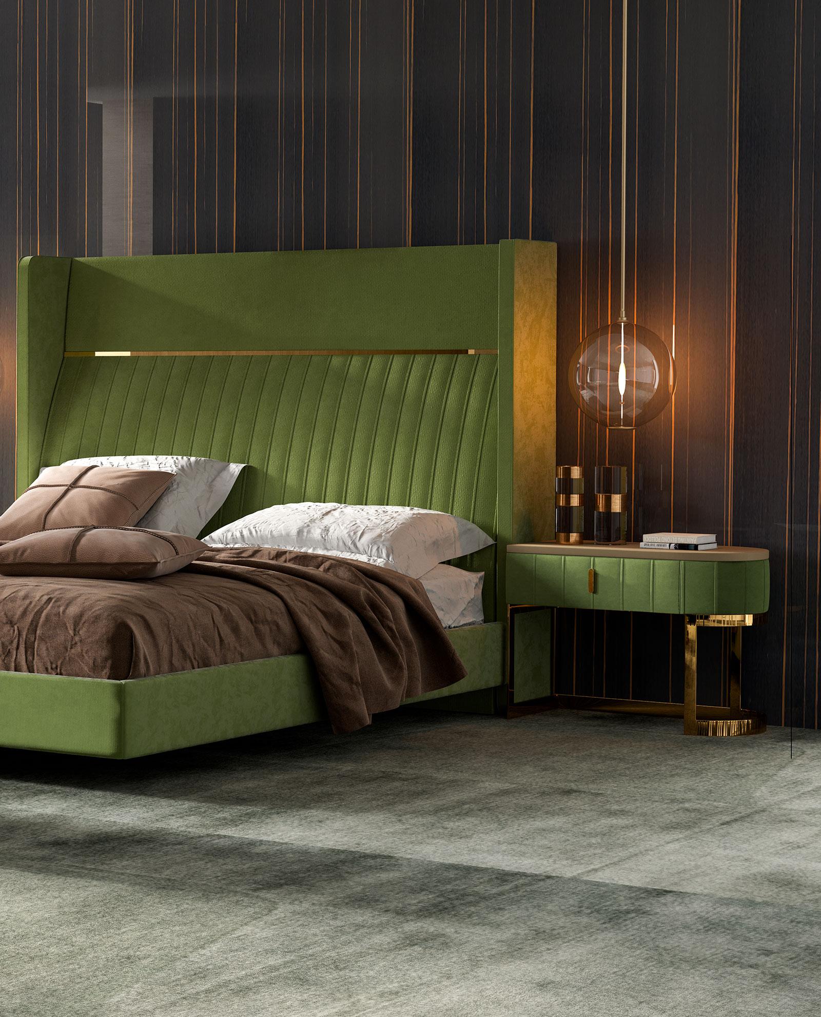 Scarlet Bedside Table - Domkapa
