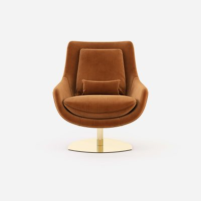 Elba-armchair-cotton-velvet-upholstered-furniture-living-room-interior-design-domkapa-Gold-stainless-steel-1
