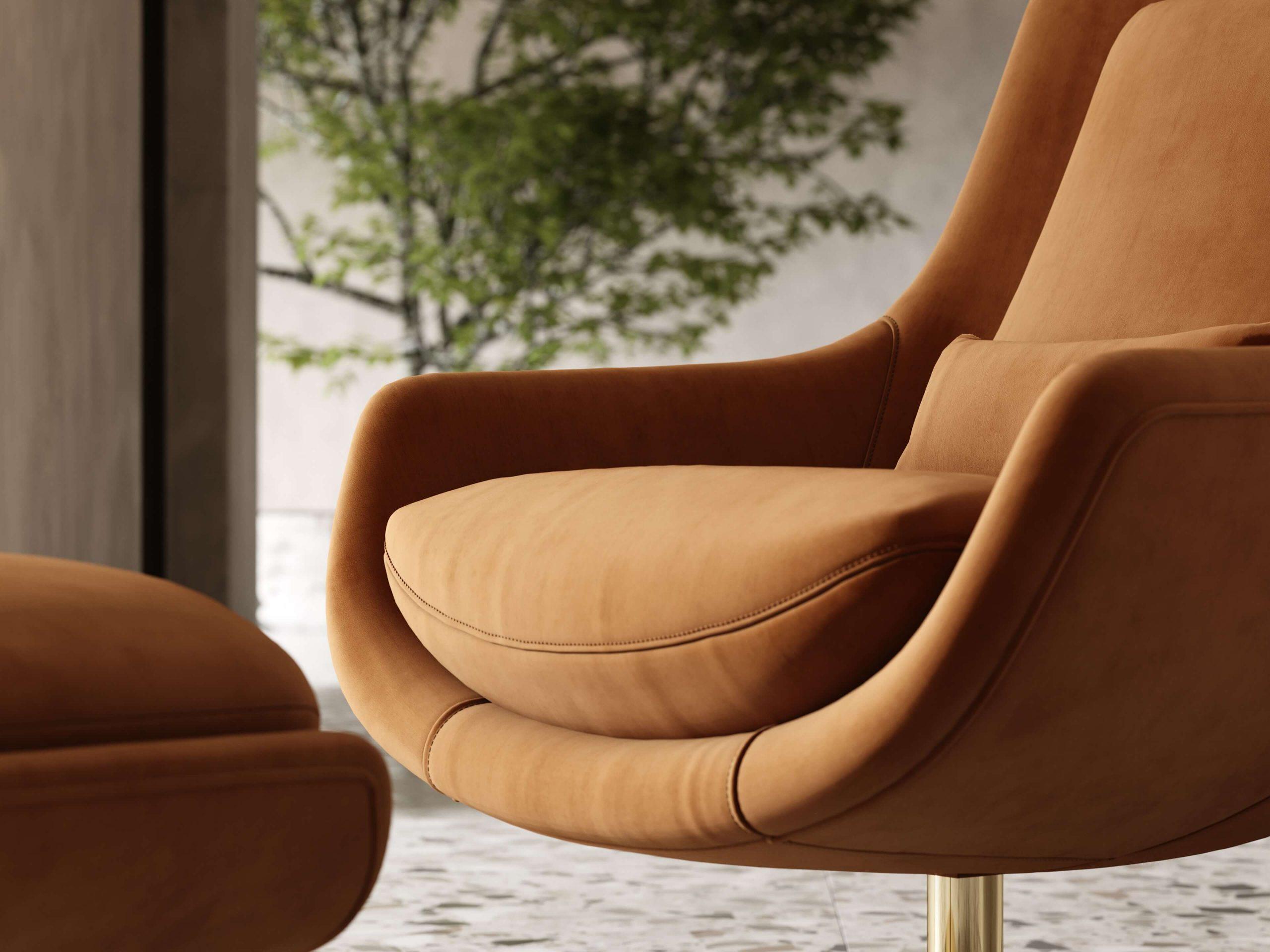 Elba-armchair-cotton-velvet-upholstered-furniture-living-room-interior-design-domkapa-Gold-stainless-steel-9