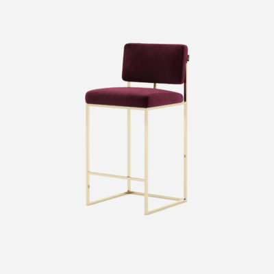 gram-counter-chair-bar-restaurant-projects-contract-hospitality-interior-design-velvet-bordeaux-steel-gold-domkapa-1