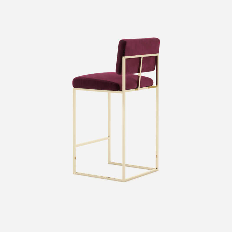gram-counter-chair-bar-restaurant-projects-contract-hospitality-interior-design-velvet-bordeaux-steel-gold-domkapa-4