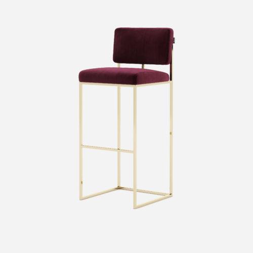 gram-stool-bar-chair-restaurant-projects-contract-hospitality-interior-design-velvet-bordeaux-steel-gold-domkapa-1