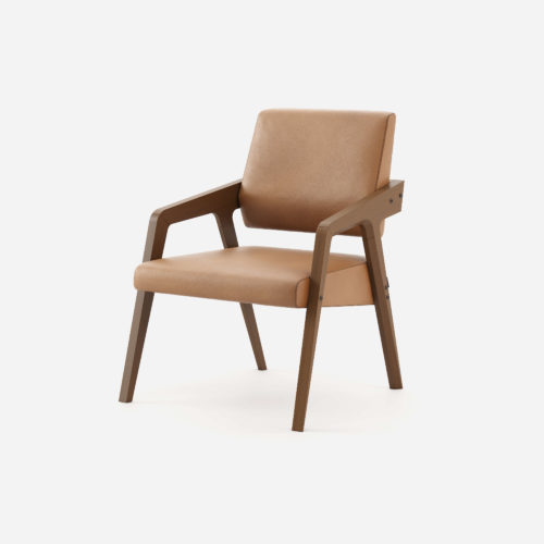 joan-armchair-brown-synthetic-leather-wood-classic-retro-revival-furniture-domkapa-1