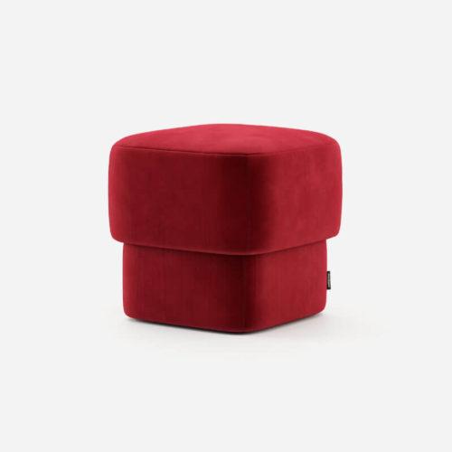 kate-pouf-stool-velvet-red-wine-interior-design-seating-trends-velvet-fabric-living-room-domkapa-1