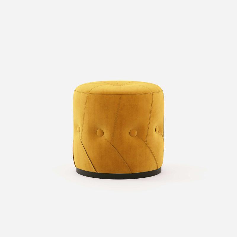 leia-pouf-stool-velvet-mostaza-interior-design-domkapa-1