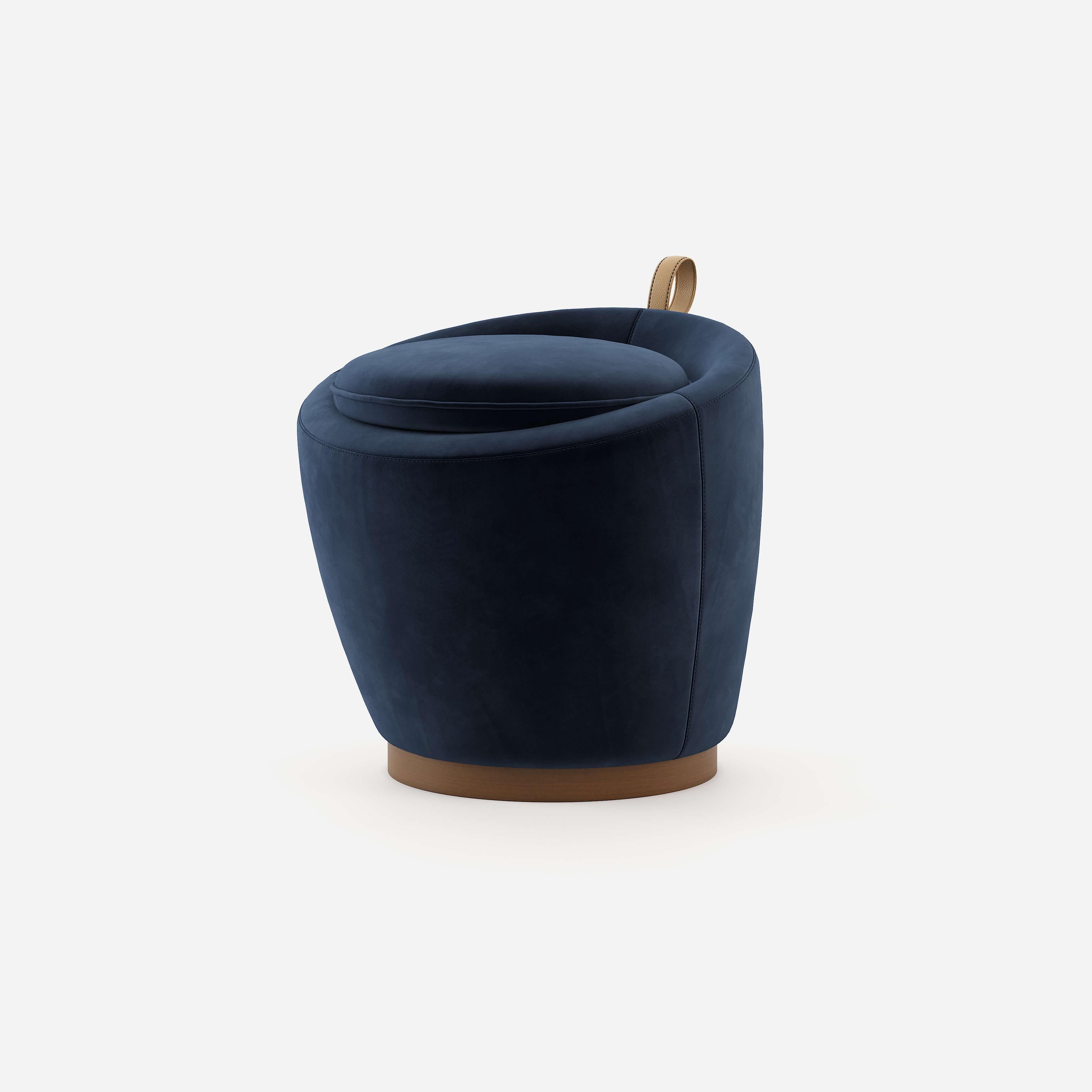 leia-puff-stool-wood-upholstered-furniture-velvet-handmade-wood-blue-domkapa-1