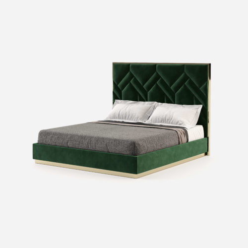 natalie-bed-cama-master-bedroom-interior-design-green-velvet-headboard-luxe-fabrics-finishes-domkapa-1