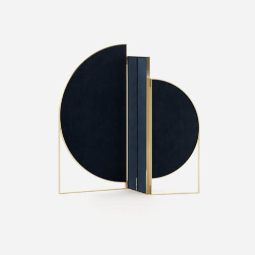 sunset-folding-screen-blue-velvet-metal-gold-domkapa-accessorize-your-home-project-bedroom-residential-2