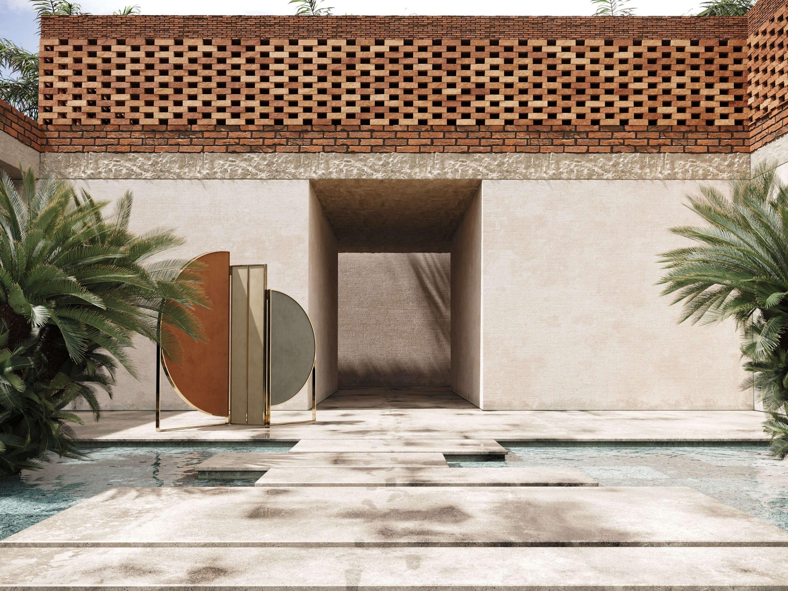 sunset-folding-screen-velvet-master-bedroom-furniture-living-room-domkapa-3