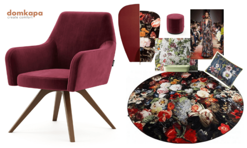 This is the 2019 Ultimate Upholstery Trends: Living Coral. The unique Pantone's Colour of the Year has already influenced numerous creations in the world of interior design, fashion, home furnishing andupholstery, graphic design and others.