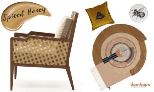 Spiced Honey: 2019 Ultimate Upholstery Trends-domkapa