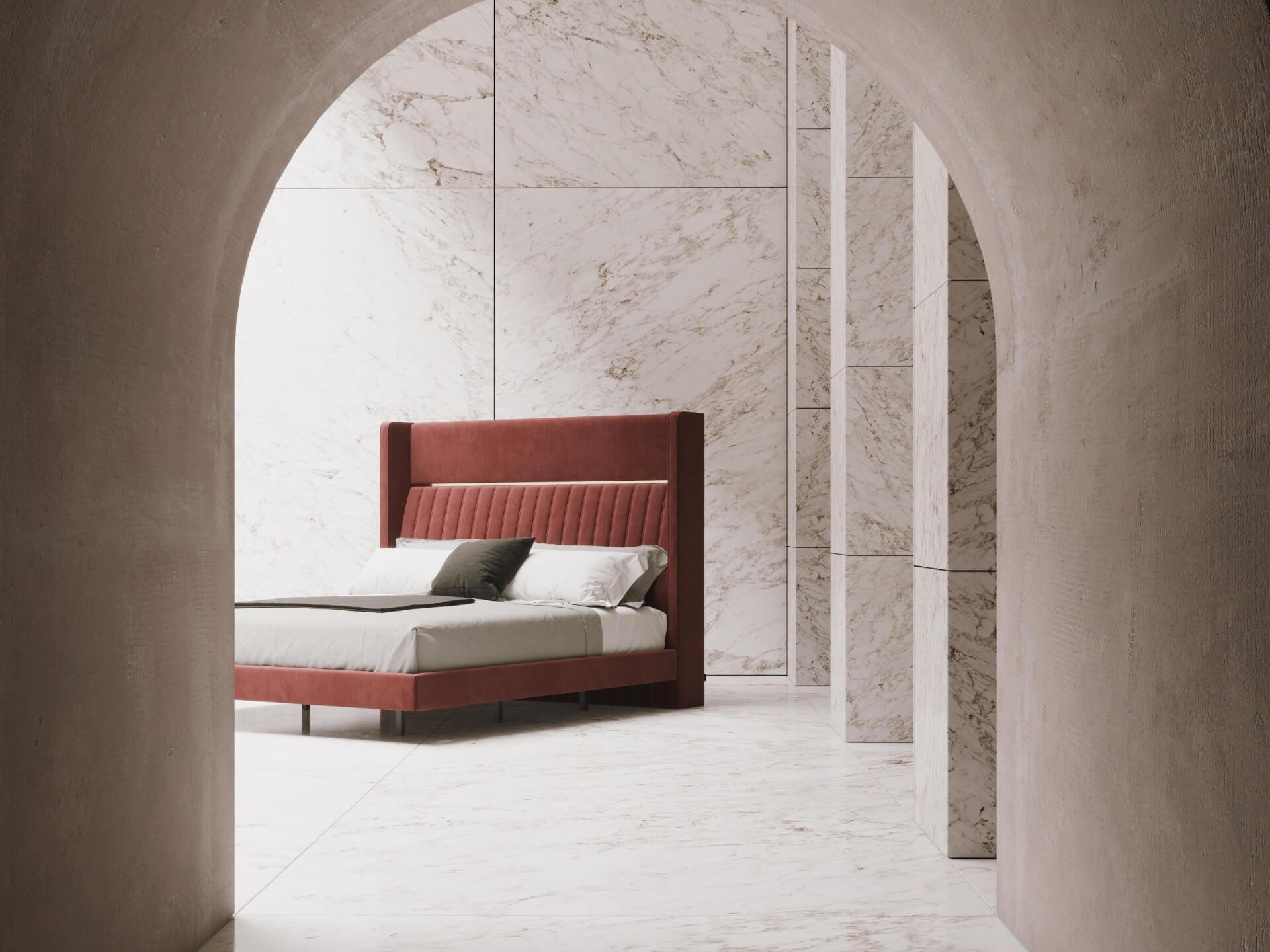 dormitorios-domkapa-interiorismo-velvet-upholstered-furniture