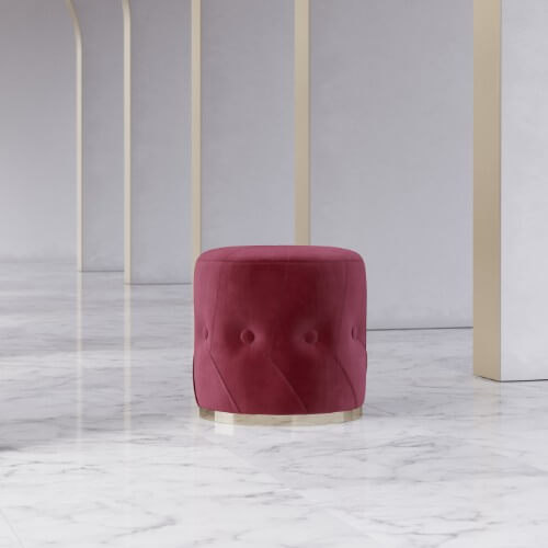 leia-pouf-velvet-gold-red-confortaveis-upholstered-furniture-living-room-domkapa-portuguese-brands