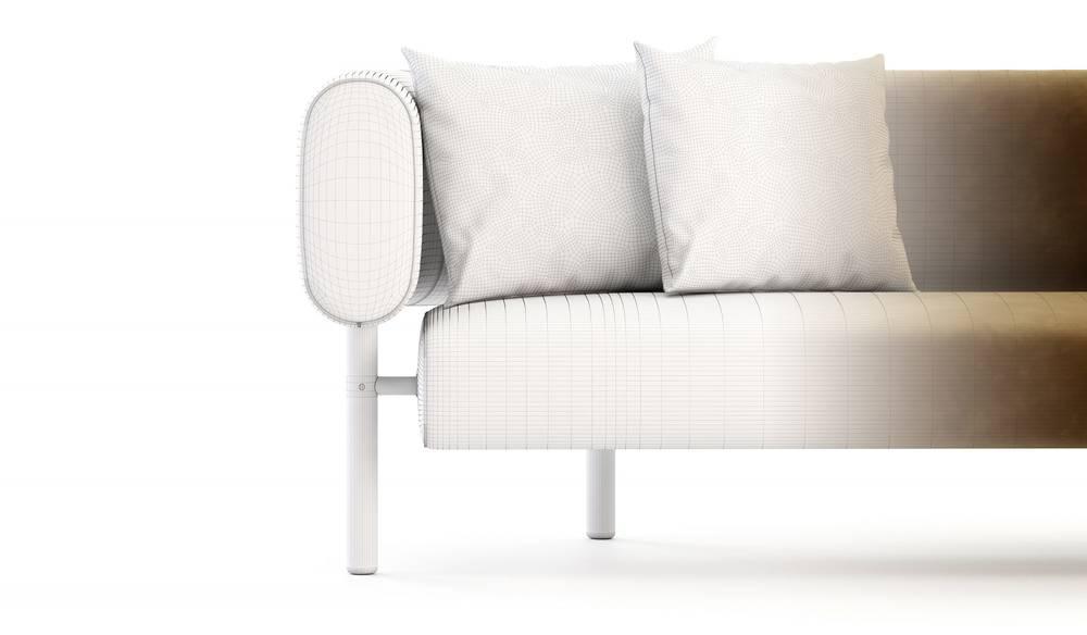3D model of a Sofa