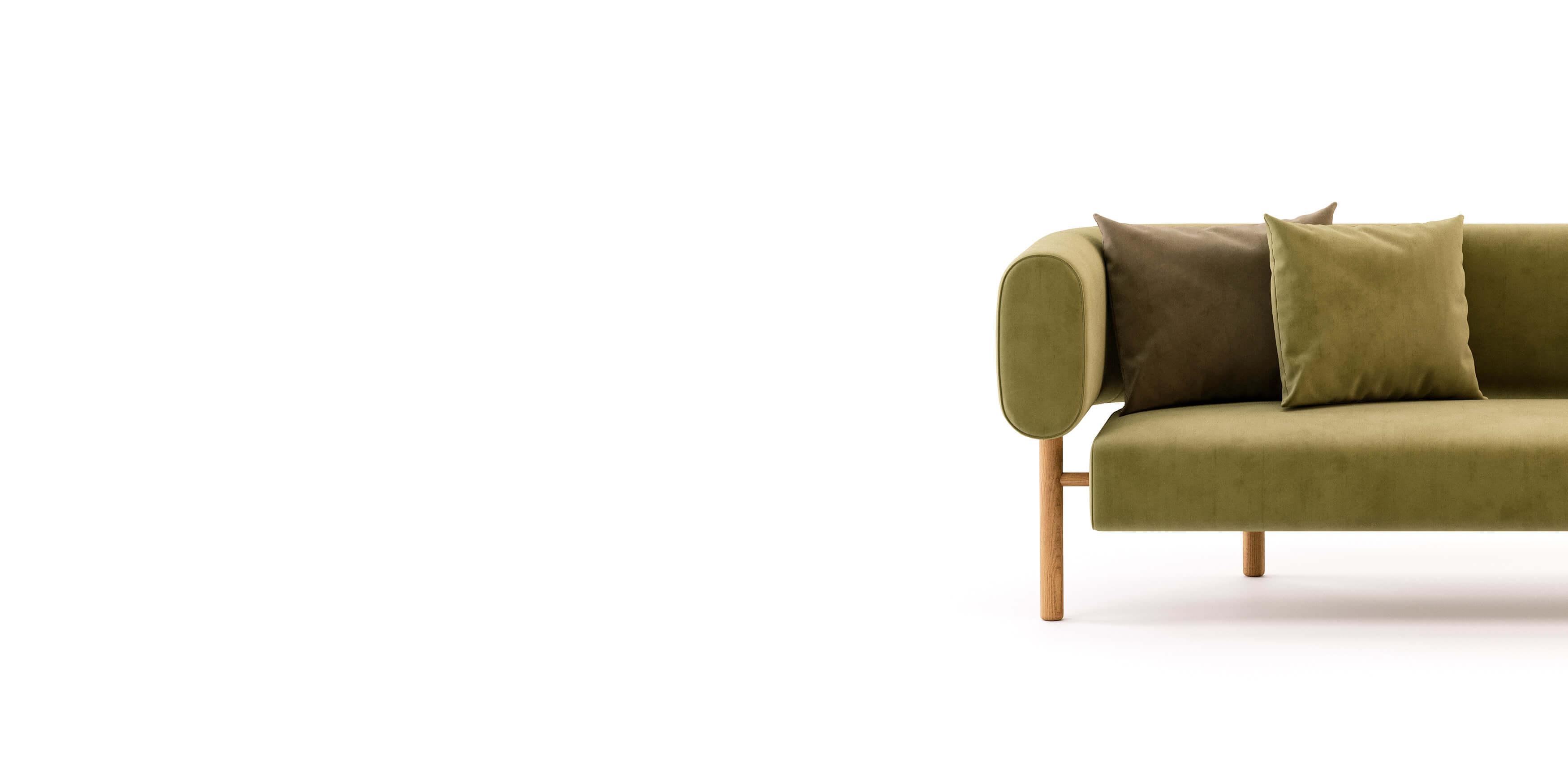 metade de um sofá
