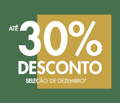 banner com 30% de desconto