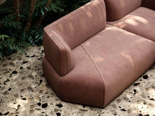disruption-sofa-salmon-velvet-living-room-seating-pieces-modular-sofa-domkapa
