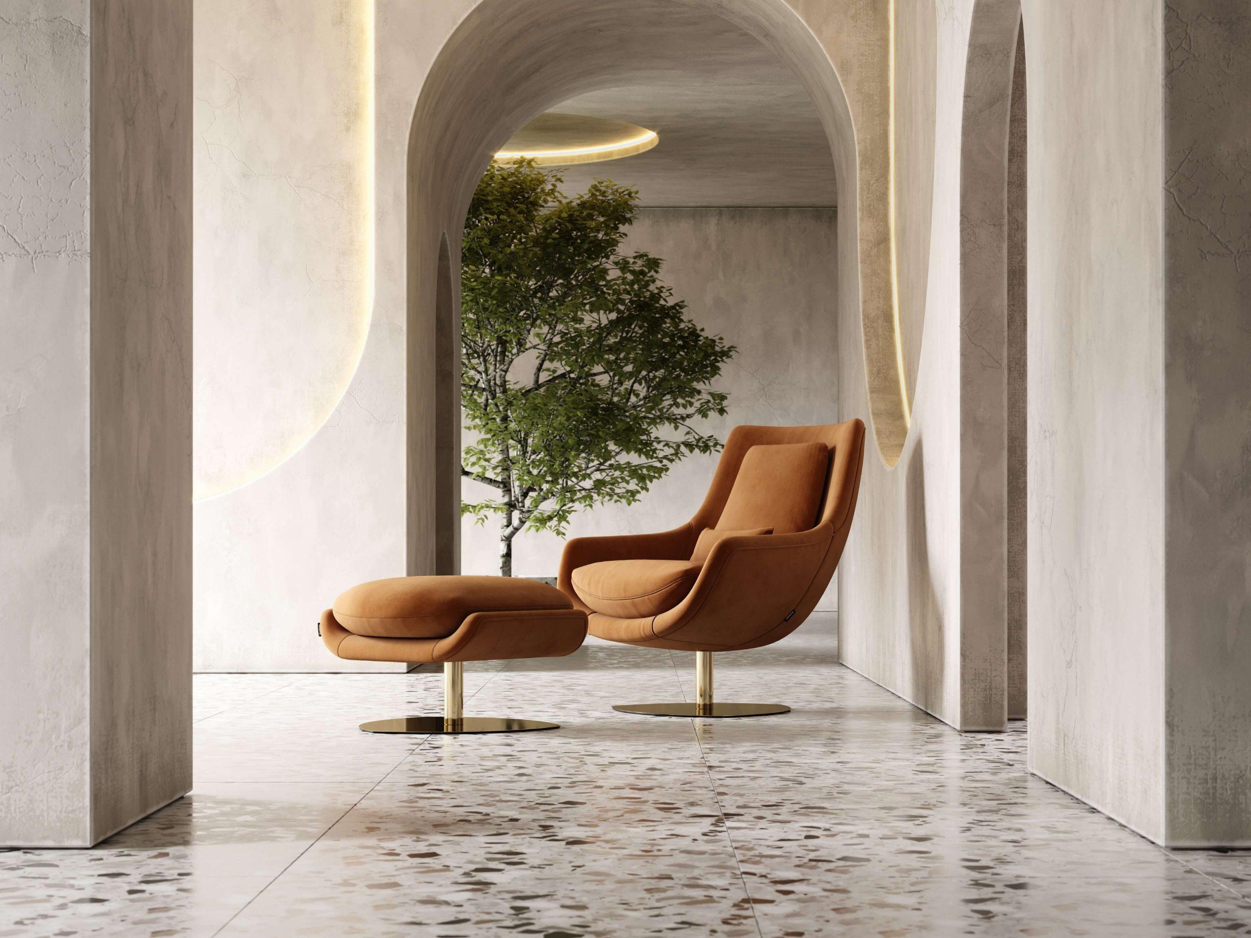 Elba-armchair-cotton-velvet-upholstered-furniture-living-room-interior-design-domkapa-Gold-stainless-steel-7