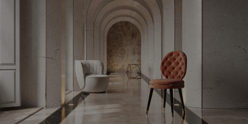 Cadeiras num corredor