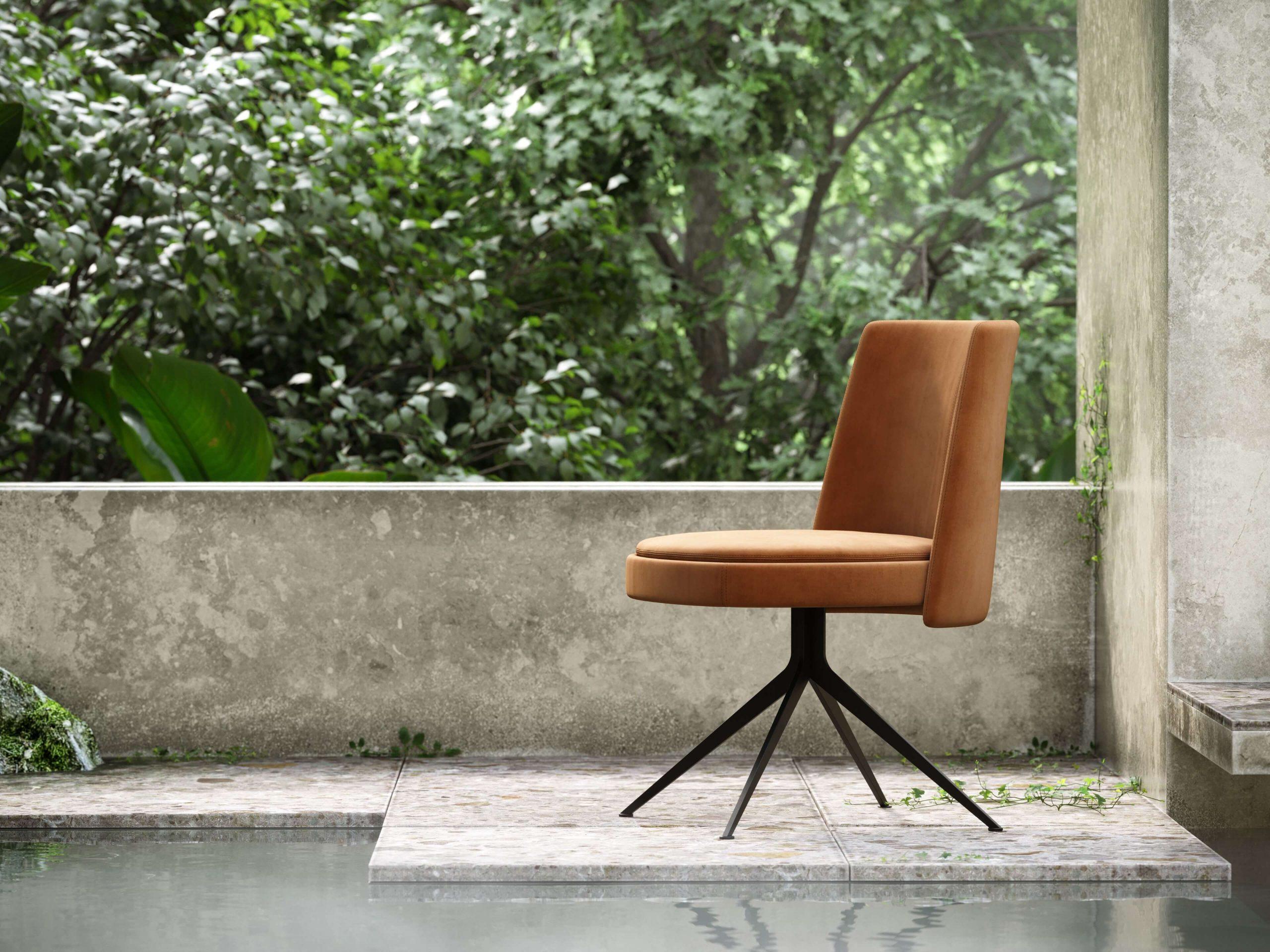 nouveau-chair-velvet-black-steel-legs-dining-room-domkapa